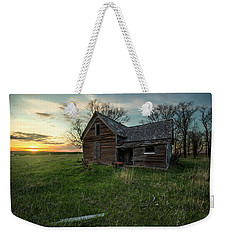 Weekender Tote Bag featuring the photograph The Way She Goes by Aaron J Groen