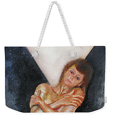 The Way You Make Me Feel Weekender Tote Bag