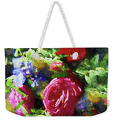 The Wedding Bouquet Weekender Tote Bag by Andrea Kollo