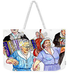 The Wedding - Life On The Stoop Weekender Tote Bag