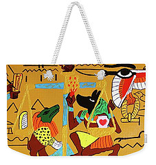 The Weighing Of The Heart Weekender Tote Bag