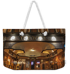Weekender Tote Bag featuring the photograph The Well by Nicholas Grunas