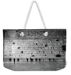 The Western Wall, Jerusalem 2 Weekender Tote Bag