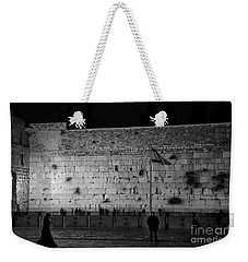 The Western Wall, Jerusalem Weekender Tote Bag