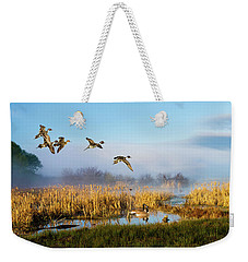 The Wetlands Crop Weekender Tote Bag