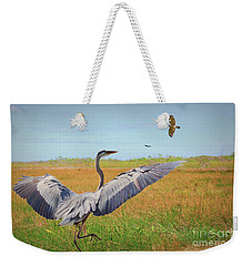 The Wetlands Dance Weekender Tote Bag