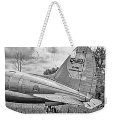 The Whale 3 - Bw Weekender Tote Bag