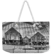 The Wharf Cardiff Bay Mono Weekender Tote Bag