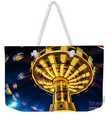 The Wheel Weekender Tote Bag by David Smith