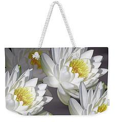 The White Garden Weekender Tote Bag