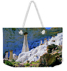 The White Hoodoos Weekender Tote Bag