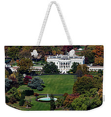 The White House Weekender Tote Bag by Ed Clark