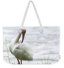 The White Ibis  Weekender Tote Bag