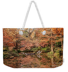 The White Ladder Weekender Tote Bag by Iris Greenwell