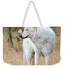 The White Lady Weekender Tote Bag