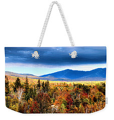Weekender Tote Bag featuring the photograph The White Mountains Autumn by Tom Prendergast