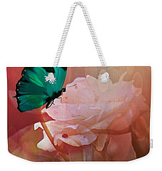 The White Rose Weekender Tote Bag