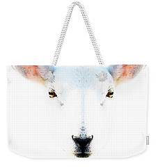 The White Sheep By Sharon Cummings Weekender Tote Bag by Sharon Cummings