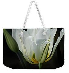 The White Tulip Weekender Tote Bag