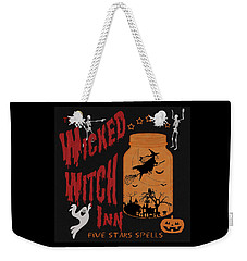 The Wicked Witch Inn Weekender Tote Bag by Georgeta Blanaru