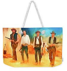 The Wild Bunch Weekender Tote Bag