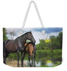 The Wild Horses Of La Chura Trail Weekender Tote Bag