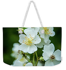 Weekender Tote Bag featuring the photograph The Wild Rose by Mark Dodd