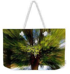 Weekender Tote Bag featuring the photograph The Wind by Elfriede Fulda