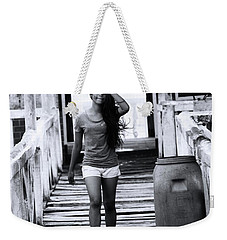 Weekender Tote Bag featuring the photograph The Wind I My Soul by Jez C Self