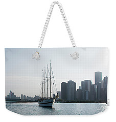 The Windy City Weekender Tote Bag by John Black