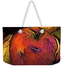 The Wine Apple With The Gold Apples Weekender Tote Bag