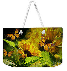 The Wings Of Transformation Weekender Tote Bag
