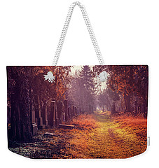The Winter Path  Weekender Tote Bag by Carol Japp