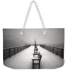 The Winter Pier Weekender Tote Bag