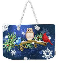 The Winter Watch Weekender Tote Bag