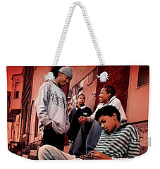 The Wire Weekender Tote Bag