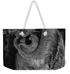 The Old Owl That Watches Blk Weekender Tote Bag