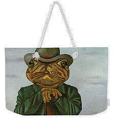 The Wise Toad Weekender Tote Bag