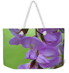 Weekender Tote Bag featuring the photograph The Wisteria by Mark Dodd