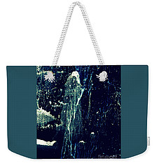 Weekender Tote Bag featuring the painting The Wizard by Nancy Kane Chapman