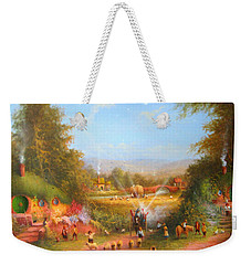 Fireworks In The Shire. Weekender Tote Bag