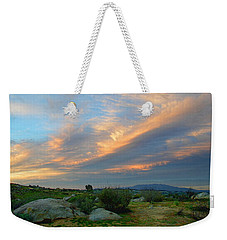 Weekender Tote Bag featuring the photograph The Wonders Of Sunset by Glenn McCarthy Art and Photography