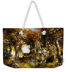 The Woodland Pool Weekender Tote Bag by Thomas Moran