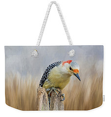 The Woodpecker Weekender Tote Bag