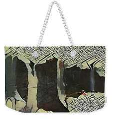 The Woods Are Lovely Weekender Tote Bag