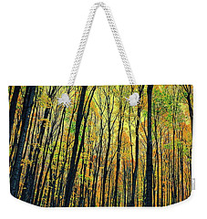 The Woods In The North Weekender Tote Bag by Michelle Calkins