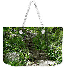 Weekender Tote Bag featuring the photograph The Work Of Unknown Hands by Joel Deutsch