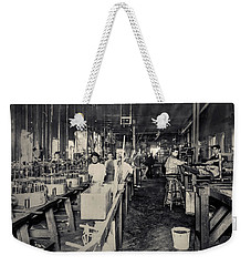 The Work Place Weekender Tote Bag by Ray Congrove