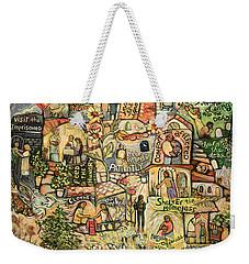 The Works Of Mercy Weekender Tote Bag
