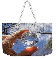The World In My Hand Weekender Tote Bag by Wade Brooks